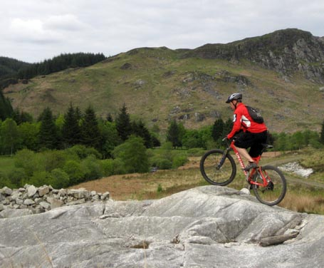 Kirroughtree of the 7 Stanes - Stunning backdrops