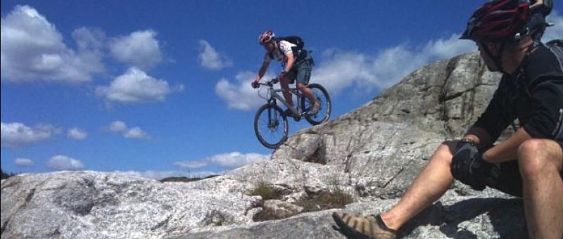 McMoab at Kirroughtree, Scotland's mountain biking hardrock.