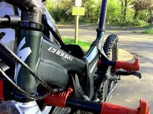 Choosing a Bike Rack for your Car - A Thule Rear Mounted Rack