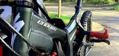 Choosing a Bike Rack for your Car - A Thule Rear Mounted Rack