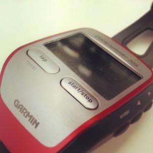 mountain bike gps: garmin forerunner 301