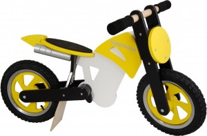 a balance bike that looks like a dirt bike