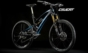 A carbon 26 covert Bike
