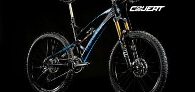 A carbon 26 covert Bike